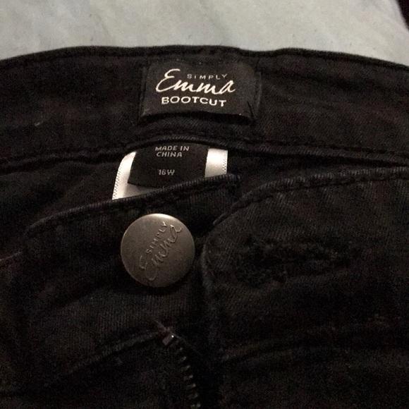 Simply Emma Pants - Black pants